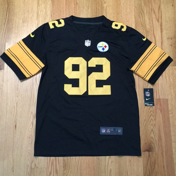 half off 1dfac c164e Pittsburgh Steelers #92 Harrison jersey